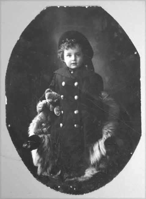 percy alfred williams age five