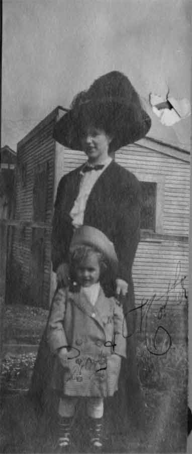 percy and dot williams circa 1912