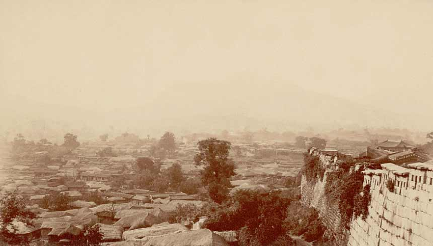 seoul 1884 george foulk photo