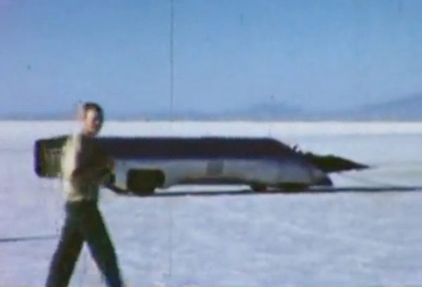 infinity land speed record