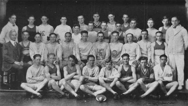 king edward high school track team 1927