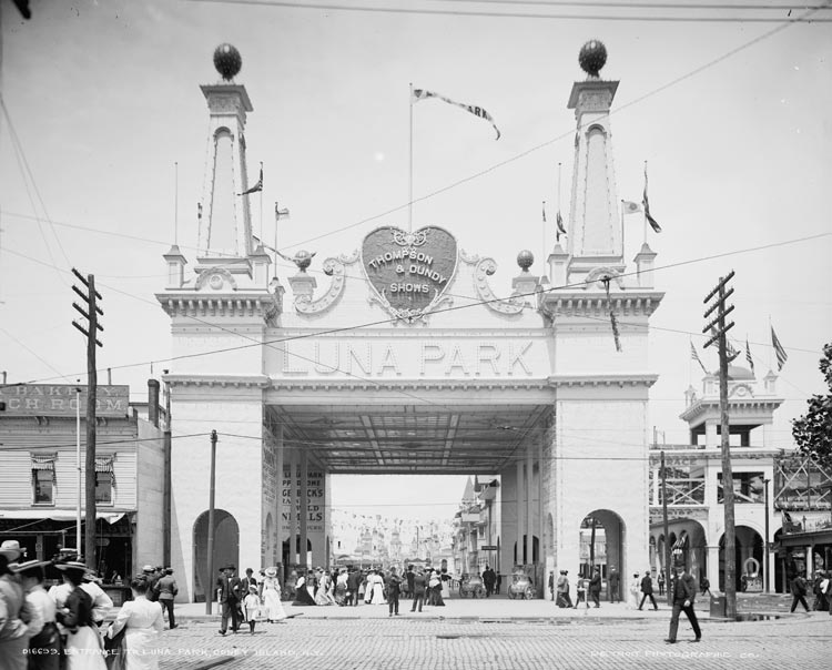 luna park gate coney island