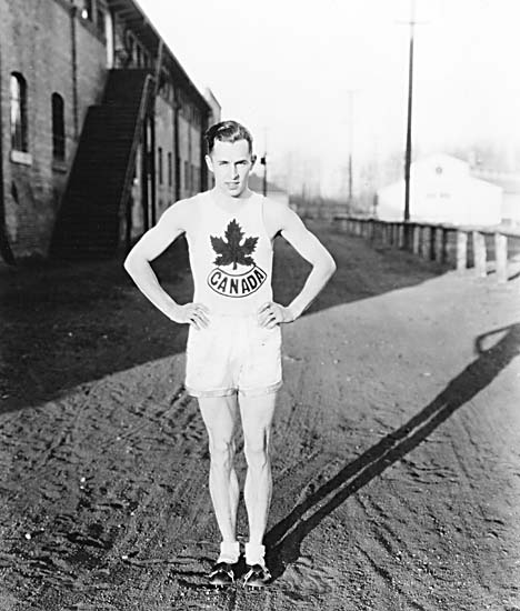 percy williams olympic outfit