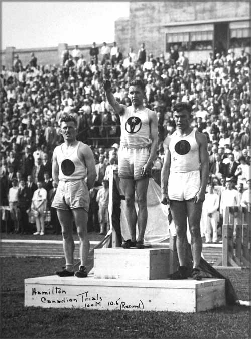 percy williams canadian olympic trials 1928