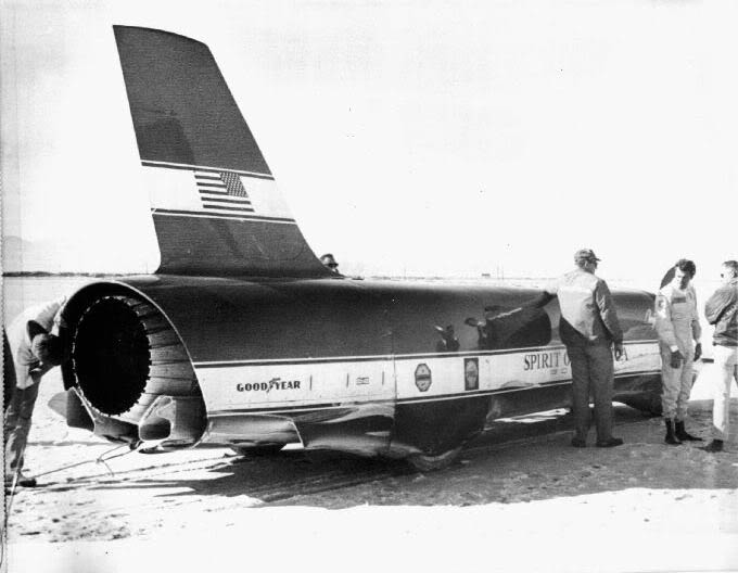 spirit of america jet car 1965