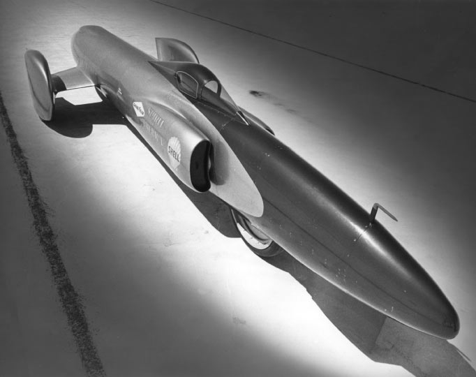 spirit of america goodyear land speed record
