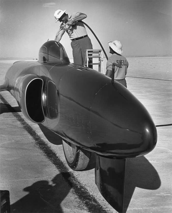 spirit of america jet car bonneville 1962