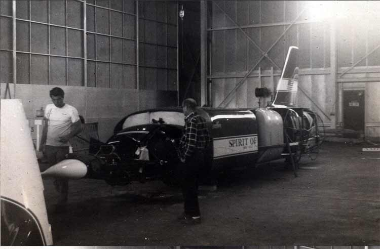 spirit of america repairs land speed record
